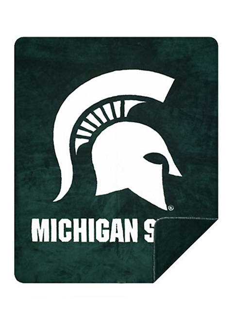 NCAA Michigan State Spartans Sliver Knit Throw