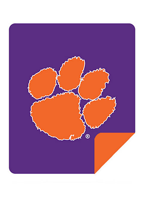 NCAA Clemson Tigers Sliver Knit Throw
