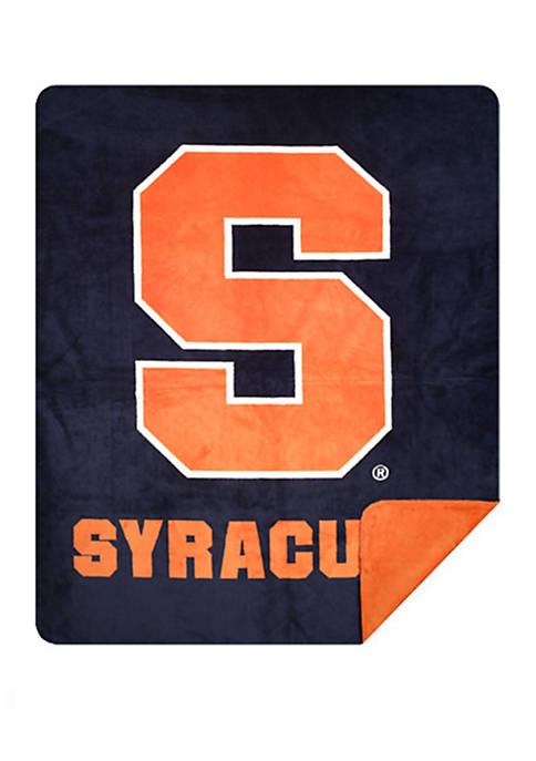 NCAA Syracuse Orange Sliver Knit Throw
