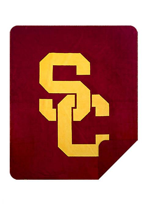 NCAA USC Trojans Sliver Knit Throw