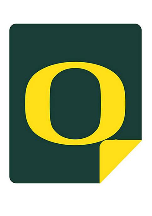 NCAA Oregon Ducks Sliver Knit Throw