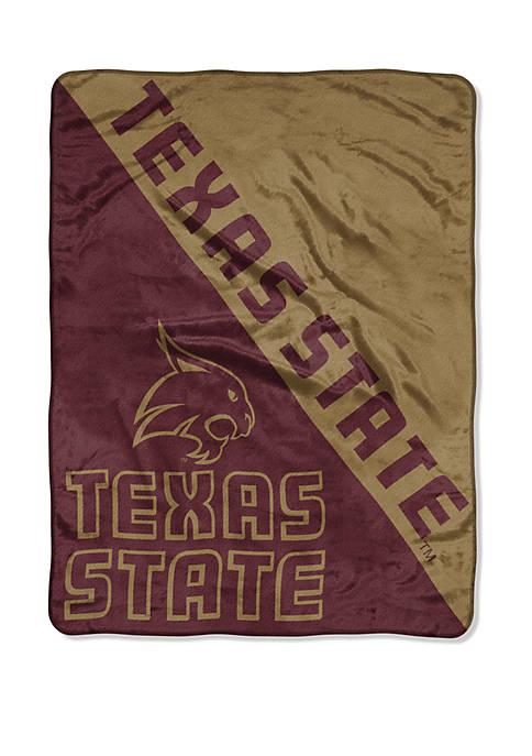 The Northwest Company NCAA Texas State Bobcats Halftone