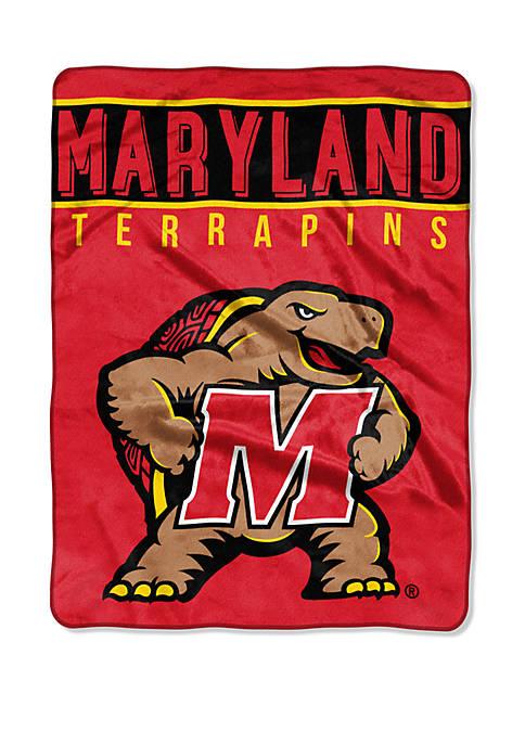 NCAA Maryland Terrapins Basic Raschel Throw