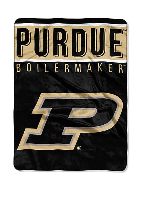 NCAA Purdue Boilermakers Basic Raschel Throw