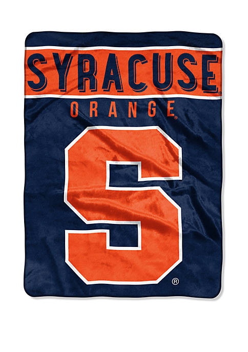 NCAA Syracuse Orange Basic Raschel Throw