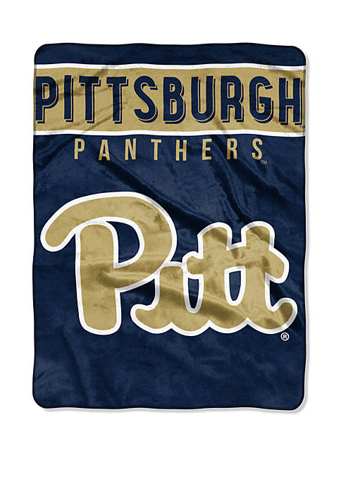 NCAA Pittsburgh Panthers Basic Raschel Throw