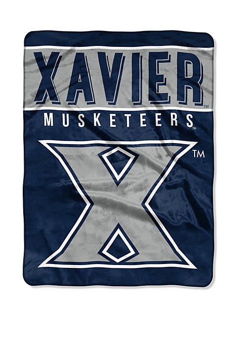 NCAA Xavier Musketeers Basic Raschel Throw