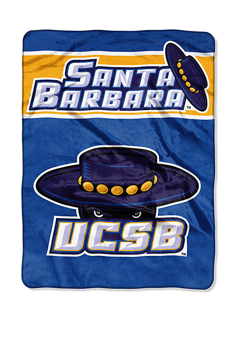 NCAA UC Santa Barbara Gauchos Basic Raschel Throw