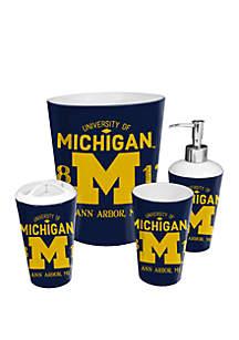 The Northwest Company NCAA Michigan Wolverines 4 Piece Bath Set