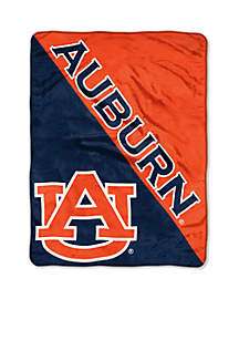Auburn Tigers Micro Plush Raschel Throw
