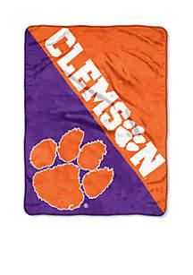 Clemson Tigers Micro Raschel Throw