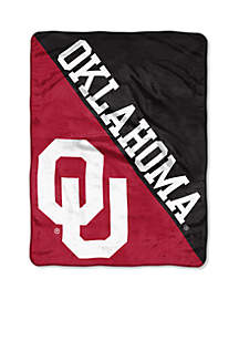 Oklahoma Sooners Micro Raschel 46 x 60 Throw