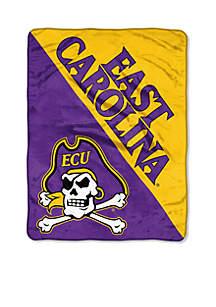 East Carolina Pirates Micro Raschel 46 x 60 Throw
