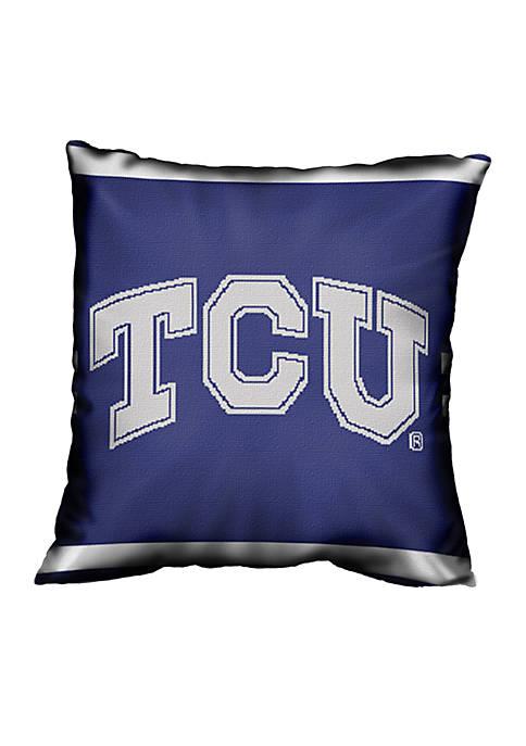 TCU Horned Frogs Jacquard Pillows