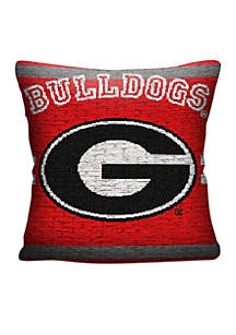 Northwest Georgia Bulldogs Jacquard Pillow