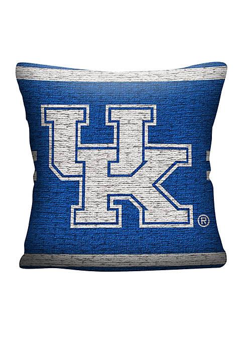 Kentucky Wildcats Jacquard Pillow