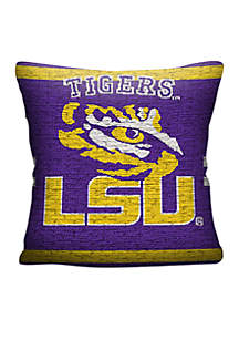 Louisiana State University Tigers Jacquard Pillow