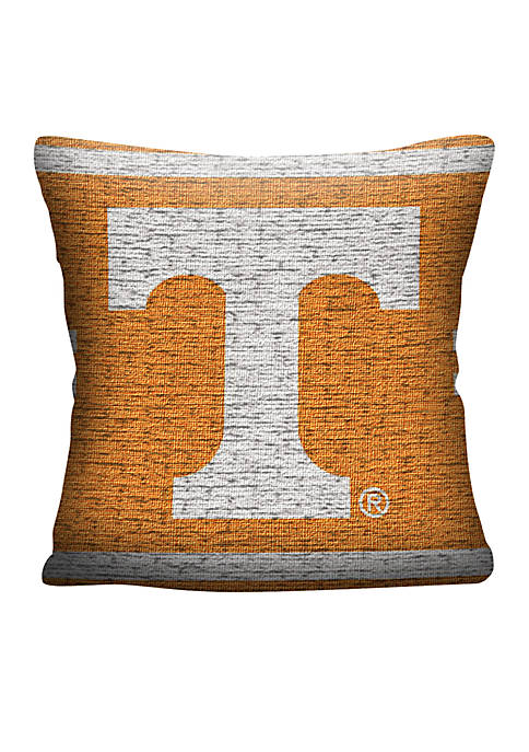 Tennessee Volunteers Jacquard Pillow