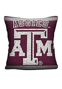 Texas A&M Aggies Jacquard Pillow