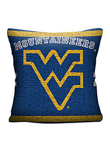 West Virginia Mountaineers Jacquard Pillow