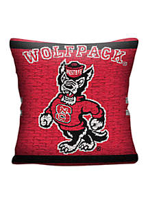 Northwest NC State Wolfpack Jacquard Pillow
