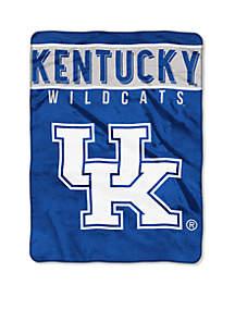 Kentucky Wildcats Royal Plush Rashcel 60 x 80 Throw
