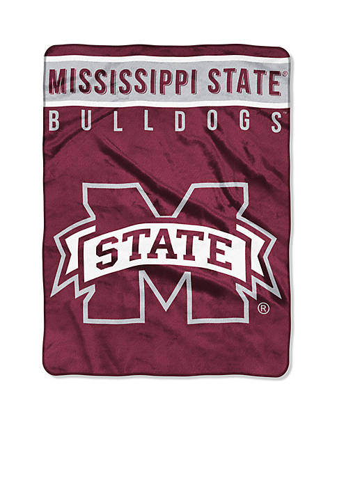 Northwest Mississippi State Bulldogs Royal Plush Raschel 60