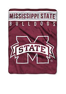 Mississippi State Bulldogs Royal Plush Raschel 60 x 80 Throw