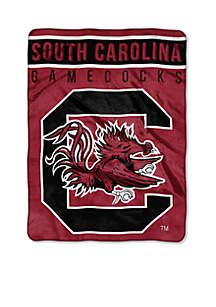 South Carolina Gamecocks Royal Plush Raschel 60 x 80 Throw