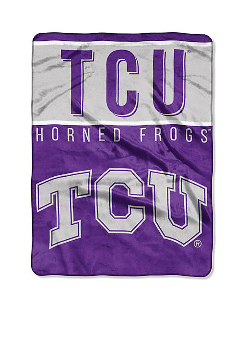 Northwest TCU Horned Frogs Royal Plush Raschel 60