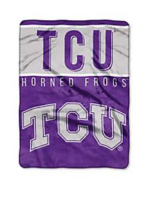 TCU Horned Frogs Royal Plush Raschel 60 x 80 Throw