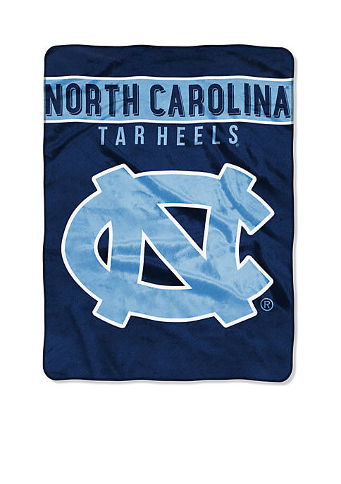 Northwest North Carolina Tar Heels Royal Plush Raschel