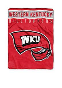 Northwest Western Kentucky Hilltoppers Royal Plush Raschel 60 x 80 Throw