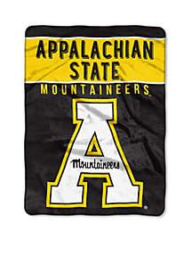Appalachian State Mountaineers Raschel Throw