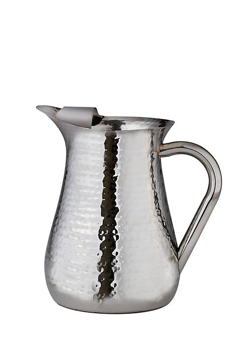 Elegance by Leeber Hammered Pitcher with Ice Guard