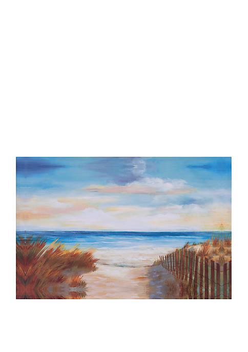 Patton Ocean Breeze Costal Canvas Art
