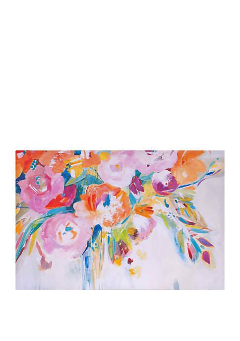 Patton Picture Dance Lessons Floral Canvas Art