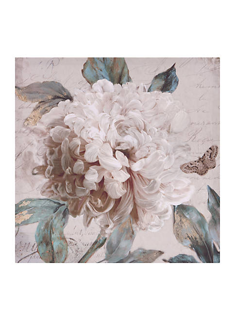 Patton Picture Morning Peony Floral Canvas Art