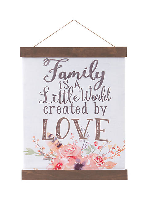 Patton Picture Family Created By Love Hanging Canvas
