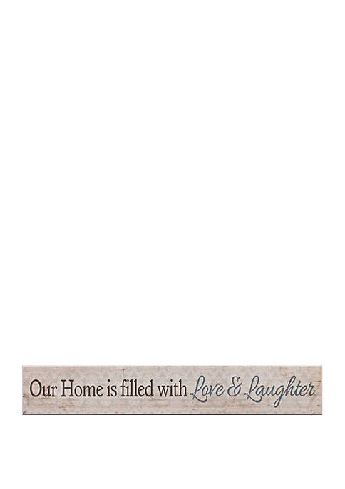 Patton Picture Love and Laughter Home Wood Wall