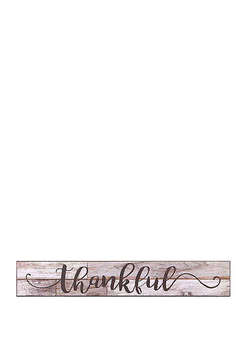 Thankful Rustic Wood Wall Art