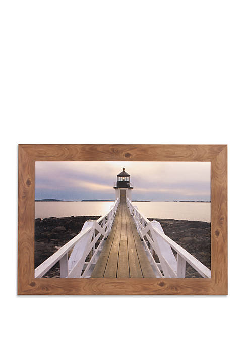 Patton Picture Marshall Point Lighthouse Photography Framed