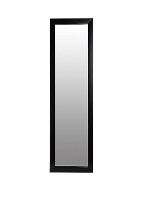 Black Full Length Over The Door Mirror