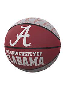 Alabama Crimson Tide Mini Size Rubber Basketball