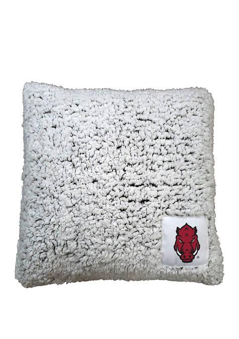 NCAA Arkansas Razorbacks Frosty Throw Pillow