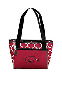 University of Arkansas 16-Can Cooler Tote