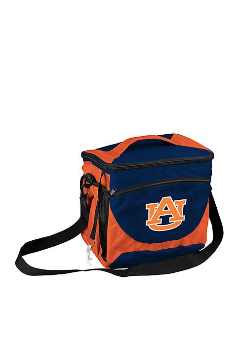 Logo Auburn 24-Can Cooler
