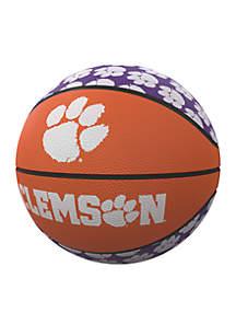 Clemson Tigers Mini Size Rubber Basketball