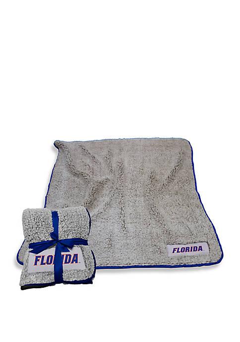 Logo University of Florida Gators Frosty Fleece Throw