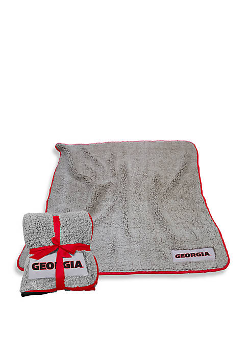 Logo University of Georgia Frosty Fleece Blanket